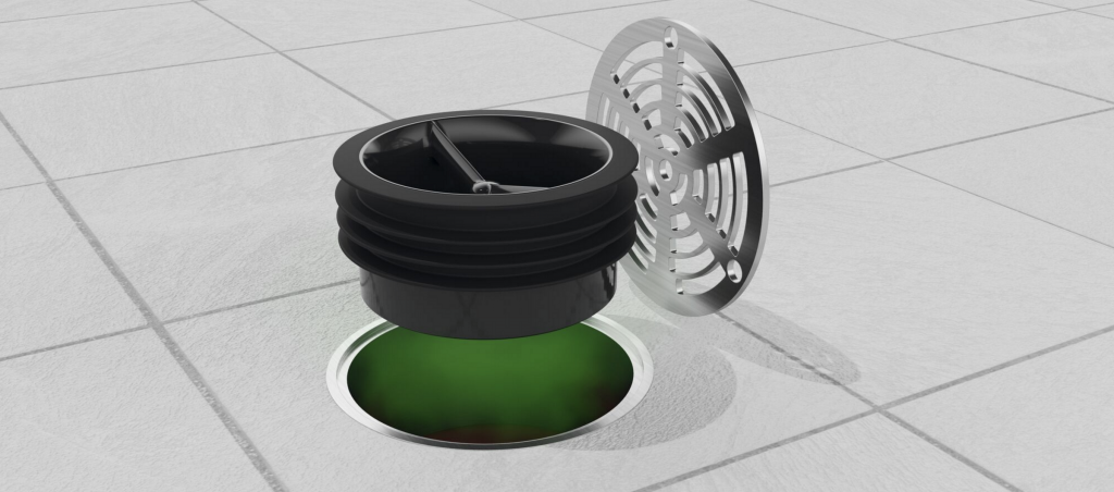 Green Drain Floor Drain Trap Seal Available In 5 Sizes